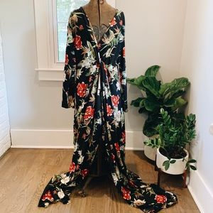 Pretty Little Thing Floral Maxi